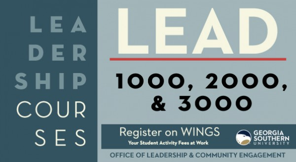 LEAD Courses Fall 18