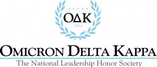 Omicron Delta Kappa.  The National Leadership Honor Society