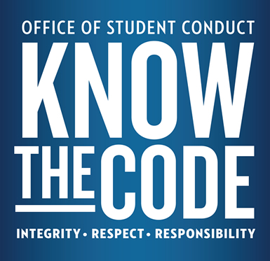 Know the Code: Integrity, Respect, Responsibility.