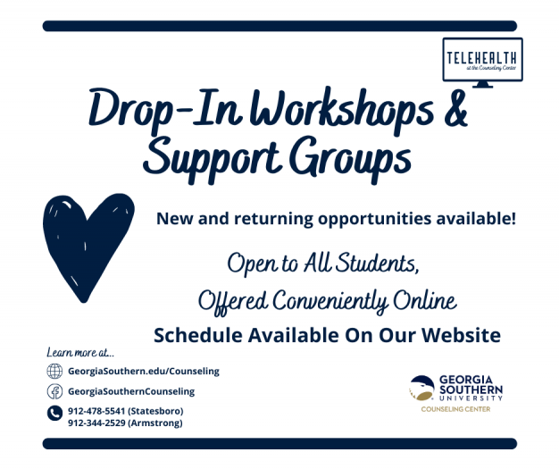 Drop In &Support Groups