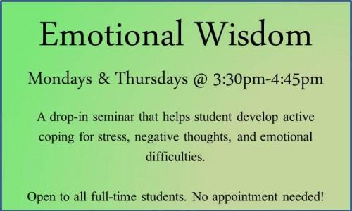 Emotional Wisdom Spring 2016
