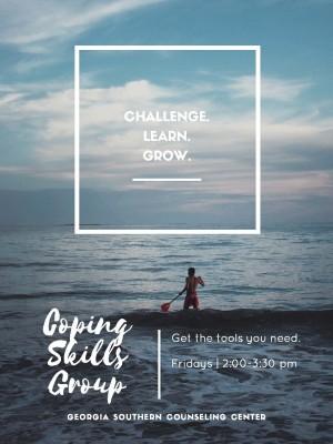 new 2018 coping skills flyer