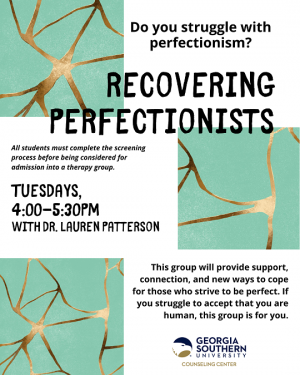 Recovering Perfectionists
