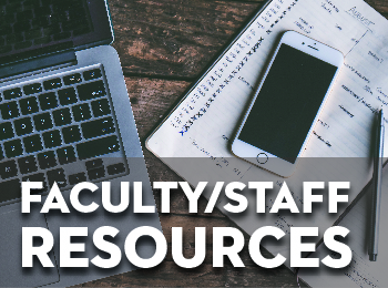 Faculty/Staff Resources
