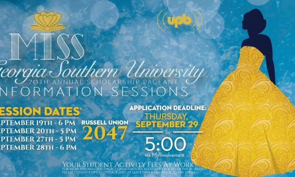 70th Miss GSU Information Session_Website Banner