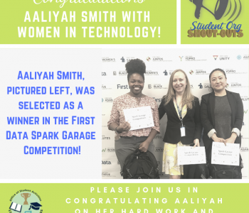 Aaliyah Smith With Women In Technology! (1)