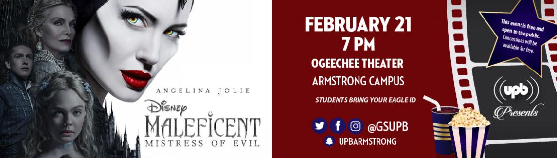Maleficent - UPBA Movie_Website Banner