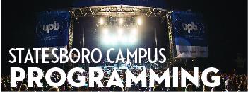 Statesboro Campus Programming