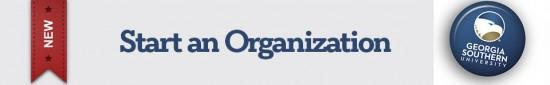 Start an Organization
