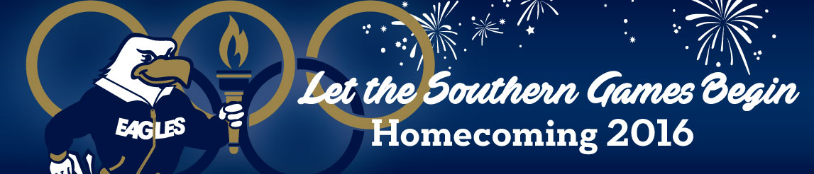 Let the Southern Games Begin - Homecoming 2016